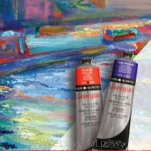 Georgian Oil 225ml, Daler-Rowney