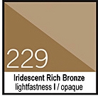 229 Iridescent Rich BronzeTusz 30ml Liquitex