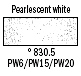 830,5 Pearlescent White pastela olejna, Van Gogh, Talens