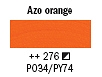 276 Azo Orange Van Gogh 40ml