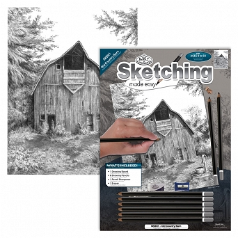 """Sketching make  easy"" SKBN1 Stara Stodoła"
