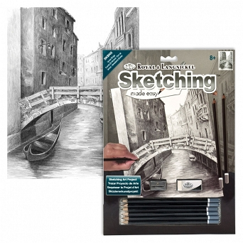 """Sketching make  easy"" SKBN3 Most Wenecki"