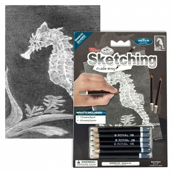 """Sketching make  easy"" SKBMIN 103 Konik morski"