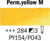 Farba Olejna nr.284 Permanent Yellow Medium Rembrandt 40ml Talens