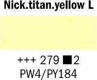 Farba Olejna nr.279 Nickel Titanium Yellow Light Rembrandt 40ml Talens