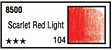 Pastela Sucha 104 Scarlet Red Light 8500 Toison D'or Koh-I-Noor
