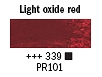 339 Light Oxide Red Van Gogh 40ml