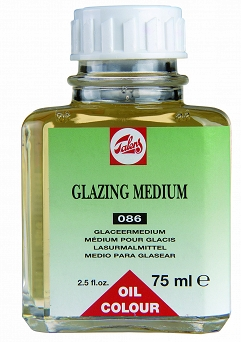 Medium do laserunku, Glazing Medium 75ml Talens 086
