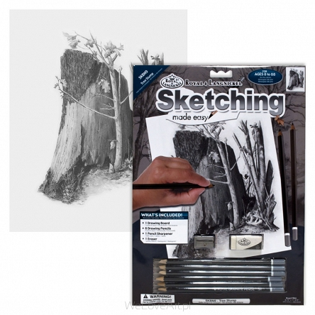 """Sketching make easy"" skbn9 ""Drzewo"" Royal&Langnickel"