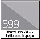 599 Neutral Grey Value 5 Tusz 30ml Liquitex