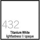 432 Titanium White Tusz 30ml Liquitex