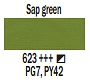 623 Sap Green, farba akrylowa, Art Creation, 200ml Talens