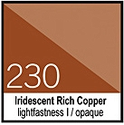 230 Iridescent Rich CopperTusz 30ml Liquitex