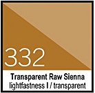 332 Transparent Raw Sienna Tusz 30ml Liquitex