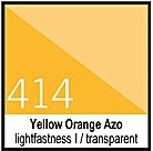 414 Yellow Orange AzoTusz 30ml Liquitex
