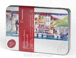 POSTCARD PAD A6 20 ARKUSZY 250G METAL BOX HAHNEMUHLE