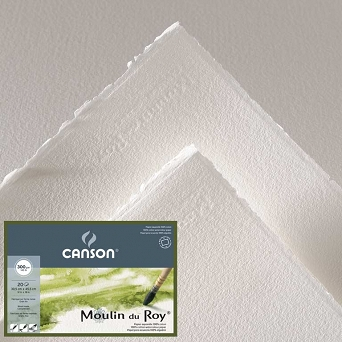 BLOK 30X40CM 300G MOULIN DU ROY, DROBNOZIARNISTY CANSON