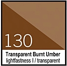 130 Transparent Burnt Umber Tusz 30ml Liquitex