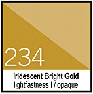 234 Iridescent Bright Gold Tusz 30ml Liquitex