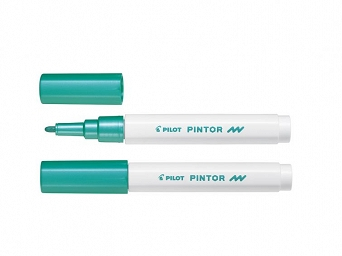 MARKER PINTOR F (2,9MM) METALLIC GREEN