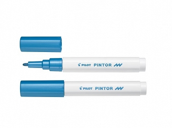 MARKER PINTOR F (2,9MM) METALLIC BLUE