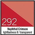 292 Naphthol CrimsonTusz 30ml Liquitex