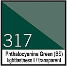 317 Phthalocyanine Green Tusz 30ml Liquitex