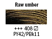 408 Raw Umber Van Gogh 40ml