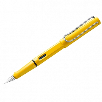 PIÓRO SAFARI YELLOW F 018, LAMY