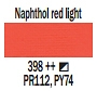 398 Naphthol Red Light, farba akrylowa Art Creation, 200ml Talens