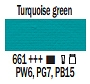 661 Turquoise Green, farba akrylowa, Art Creation, 200ml Talens
