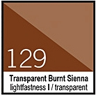 129 Transparent Burnt Sienna Tusz 30ml Liquitex
