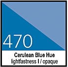 470 Cerulean BlueHue Tusz 30ml Liquitex