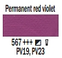 567 Permanent Red Violet, farba akrylowa Art Creation, 200ml Talens