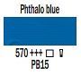 570 Phthalo Blue, farba akrylowa, Art Creation, 200ml Talens