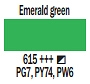 615 Emerald Green, farba akrylowa, Art Creation, 200ml Talens
