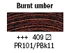 409 Burnt Umber Van Gogh 40ml