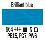 564 Brilliant Blue, farba akrylowa, Art Creation, 200ml Talens