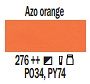 276 Azo Orange, farba akrylowa Art Creation, 200ml Talens