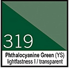 319 Phthalocyanine Green Tusz 30ml Liquitex