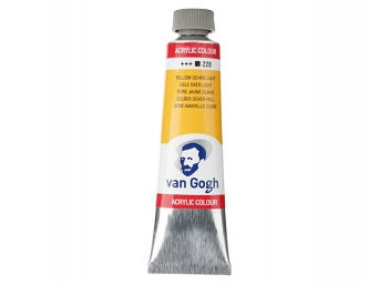 228 Yellow Ochre Light Van Gogh 40ml