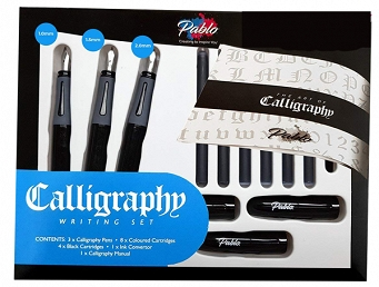 ZESTAW DO KALIGRAFII  CALLIGRAPHY WRITTING SET 17, PABLO