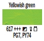 617 Yellowish Green, farba akrylowa, Art Creation, 200ml Talens